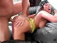 Latina MILF got punished for selling drugs