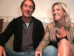 Mature french couple hot fuck