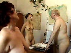 Nudist Office
