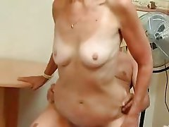 Silver 80 Year Old Gran Loves Cock N Cum !