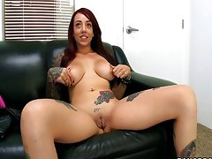 Mila Treasure Tattooed And Horny Casting