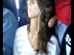 dickflash hot girl in bus