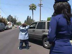 Policegirl And A Midget