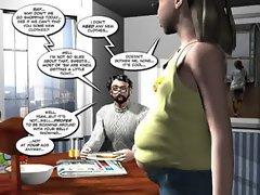 3D Comic : Curse of the Langsuir. Episode 3 : Crazyxxx3Dworld.com