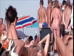 The secrets of a nudist beach - shameless naturists getting naughty in public