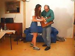 Dad does Veronika