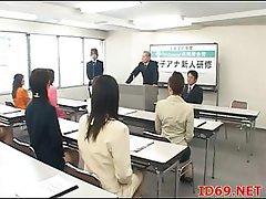 Japanese AV Model forced to suck
