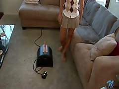A true first time sybian ride