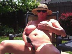 Ohio MILF Triple Orgasm Nudist