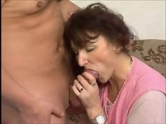 Facial, Granny, Hairy, Mature