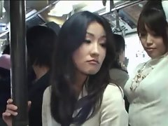 Japanese strapon bus molester
