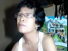 Filipina 57 years old granny