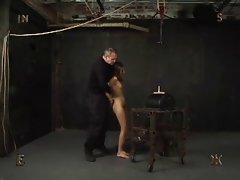 BDSM - Slim Slut Riding On Sybian by Cezar73