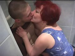 Mom finds Not Her Son Looking at Porn In Bathroom