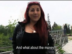 Eurobabe Sophia Wild banged for money