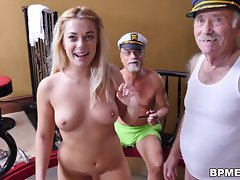 Teen Kenzie Green Fucks Old Men