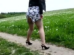 old slut outdoor