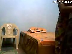 Indian Servant fucking very hard with houseowner in Bedroom