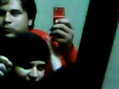 Chubby boy forcing a paki hijab girl for sex and forcing to film