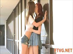 Girls having lesbo fun
